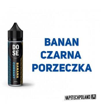 Premix DO SE Fruits - BANANA Currant 40ML Premix o smaku banana i czarnej porzeczki.40ml płynu w butelce o pojemności 60ml.