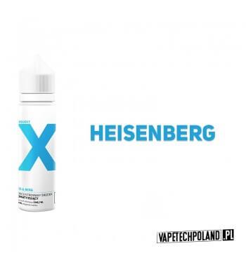 PREMIX PROJEKT X - HEISENBERG 40ml Premixo smakuHEISENBERGa.40ml płynu w butelce o pojemności 60mlProdukt Shake and Vape