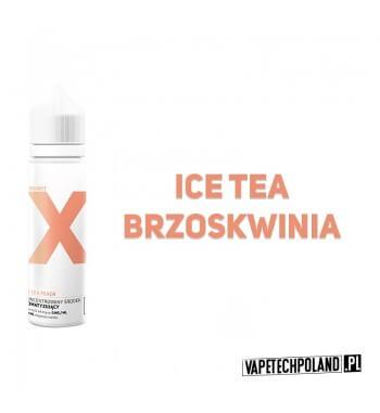 PREMIX PROJEKT X - Ice Tea Peach 40ml Premixo smakuherbaty brzoskwiniowej.40ml płynu w butelce o pojemności 60mlProdukt S