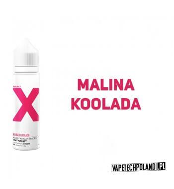 PREMIX PROJEKT X - Malina / Koolada 40ml Premixo smaku maliny z kooladą.40ml płynu w butelce o pojemności 60mlProdukt Shak