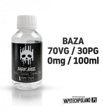BAZA - DARK BASE 100ML - 70VG/30PG 0MG Najlepsza baza na polskim rynku prosto od VAPETECHPOLAND! 100ML bazy neutralnej 70VG/30P