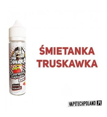 Premix PAN CHMURKA - Czerwony Kapturek 50ML Premixo smakutruskawki ze śmietanką.50ml płynu w butelce o pojemności 60mlPro