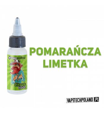 Premix VAPENATION - CITRUS 20ML Połączenie pomarańczy i limetki! 20ml płynu w butelce o pojemności 30ml.Produkt Shake and Vap