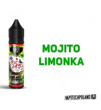 Premix SELFIE BAD MOJO - Moji Too 50ml Premix o smakumojito z limonką.50ml płynu w butelce o pojemności 60ml.Produkt Shake