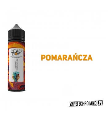 Premix DEAD BOY - Pomarańczowa Oranżada 40ML Premix o smaku oranżady pomarańczowej.40ml płynu w butelce o pojemności 60ml.P