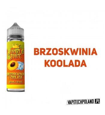 Premix Jungle Juice - Brzoskwinia i Coolada 40ML Premix o smakubrzoskwini z kooladą.40ml płynu w butelce o pojemności 60ml.