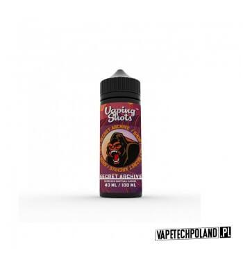 Premix Vaping Shots - Secret Archive 40ML Premix o smaku kawy ze śmietanką i karmelem.40ml płynu w butelce o pojemności 60ml.