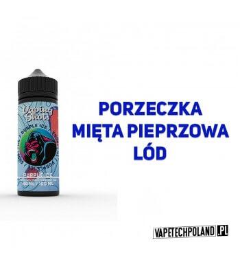 Premix Vaping Shots - Purple ICE 40ML Premix o smaku porzeczki z miętą pieprzową i lodem.40ml płynu w butelce o pojemności 60