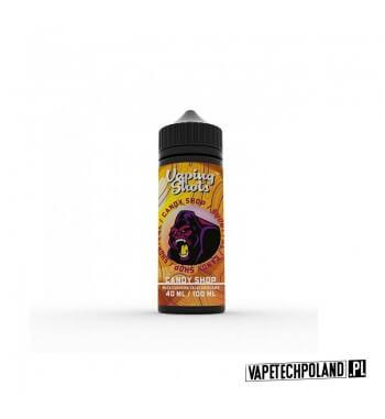 Premix Vaping Shots - Candy Shop 40ML Premix o smaku waty cukrowej z żelkami owocowymi.40ml płynu w butelce o pojemności 60ml