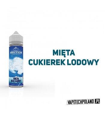 Premix Arctica - Mięta, Ice Candy 40ML Premix o smaku mięty i cukierków lodowych.40ml płynu w butelce o pojemności 60ml.Pro