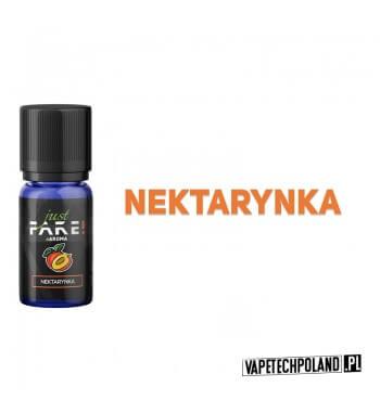 Aromat Just FAKE - NEKTARYNKA 10ml Aromat o smaku nektarynki.  Sugerowane dozowanie: 7-15% Pojemność: 10ml 2