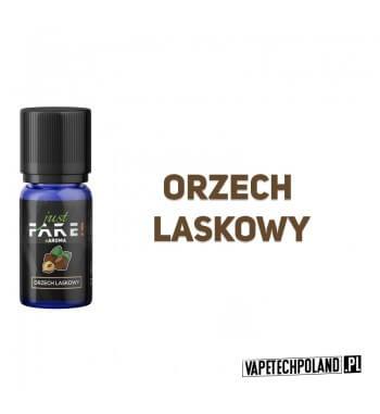 Aromat Just FAKE - ORZECH LASKOWY 10ml Aromat o smaku orzechów laskowych.  Sugerowane dozowanie: 7-15% Pojemność: 10ml 2