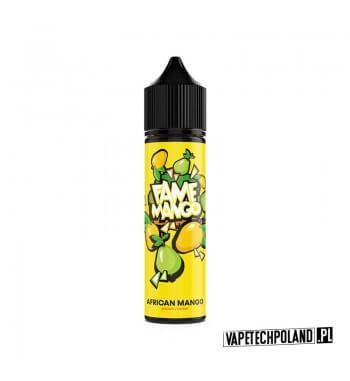 Premix FAME MANGO - African Mango 40ML Premix o smaku mango z guawą. 40ml płynu w butelce o pojemności 60ml.Produkt Shake and