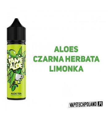 Premix FAME ALOE - Aloe Tea 40ML Premix o smaku aloesu z czarną herbatą i limonką. 40ml płynu w butelce o pojemności 60ml.Pro