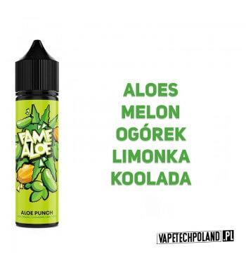 Premix FAME ALOE - Aloe Punch 40ML Premix o smaku aloesu z melonem, ogórkiem, limonką oraz kooladą. 40ml płynu w butelce o poje