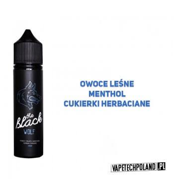 Premix THE BLACK - WOLF 40ML Premix o smakuowoców leśnych z mentholem i cukierkami herbacianymi. 40ml płynu w butelce o pojemn