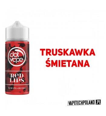 Premix DotVape - Red Lips 80ML Premix o smaku truskawki ze śmietanką. 80ml płynu w butelce o pojemności 120ml.Produkt Shake a