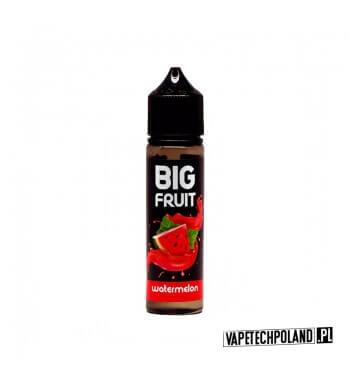 BIG FRUIT BOTTLE 40 ml - ARBUZ Płyn o smakuArbuza 40ml płynu w butelce o pojemności 60ml.Produkt Shake and Vape przeznaczony