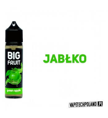 PREMIX BIG FRUIT BOTTLE 40 ml - JABŁKO Premix o smakujabłka. 40ml płynu w butelce o pojemności 60ml.Produkt Shake and Vape p