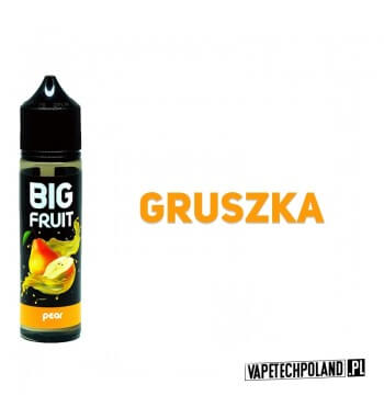 PREMIX BIG FRUIT BOTTLE 40 ml - GRUSZKA Premix o smakugruszki. 40ml płynu w butelce o pojemności 60ml.Produkt Shake and Vape