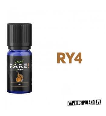 Aromat Just FAKE - RY4 10ml Aromat o smaku tytoniu RY4.  Sugerowane dozowanie: 7-15% Pojemność: 10ml 2