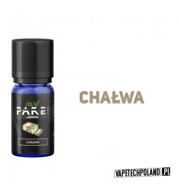 Aromat Just FAKE - CHAŁWA 10ml Aromat o smaku chałwy.  Sugerowane dozowanie: 7-15% Pojemność: 10ml 2