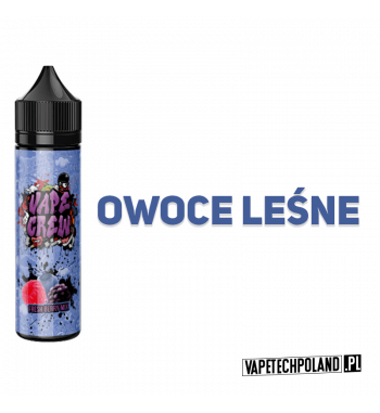 Premix VAPE CREW - FRESH BERRIES 50ML FRESH BERRY MIX - SWIEŻY MIX OWOCÓW LEŚNYCH 50ml płynu w butelce o pojemności 60ml.Prod