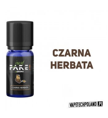 Aromat Just FAKE - CZARNA HERBATA 10ml Aromat o smaku czarnej herbaty.  Sugerowane dozowanie: 7-15% Pojemność: 10ml 2