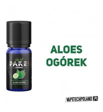 Aromat Just FAKE - ALOES & OGÓREK 10ml Aromat o smaku aloesu z ogórkiem.  Sugerowane dozowanie: 7-15% Pojemność: 10ml 2