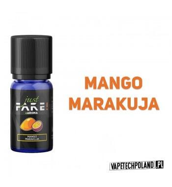 Aromat Just FAKE - MANGO & MARAKUJA 10ml Aromat o smaku mango i marakui.  Sugerowane dozowanie: 7-15% Pojemność: 10ml 2