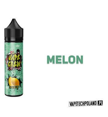 Premix VAPE CREW - FRESH MELON 50ML SWIEZY MELON... 50ml płynu w butelce o pojemności 60ml.Produkt Shake and Vape przeznaczon