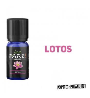 Aromat Just FAKE - LOTOS 10ml Aromat o smaku lotosu.  Sugerowane dozowanie: 7-15% Pojemność: 10ml 2