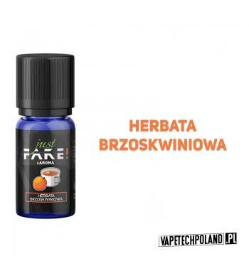 Aromat Just FAKE - HERBATA BRZOSKWINIOWA 10ml Aromat o smaku herbaty brzoskwiniowej.  Sugerowane dozowanie: 7-15% Pojemność: 1