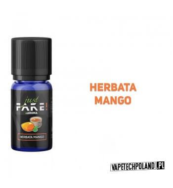 Aromat Just FAKE - HERBATA MANGO 10ml Aromat o smaku herbaty mango.  Sugerowane dozowanie: 7-15% Pojemność: 10ml 2