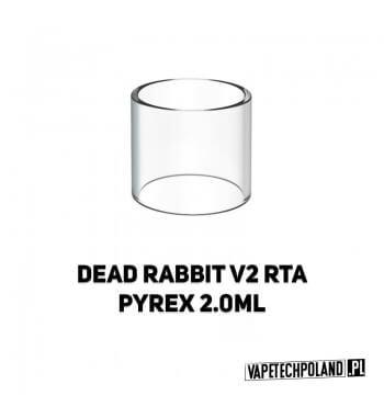 Pyrex Glass/Szkło do DEAD RABBIT V2 RTA 2ML Pyrex Glass/Szkło do DEAD RABBIT V2 RTA 2ML. W zestawie znajduję się jedna sztuka.