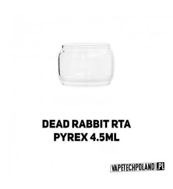 Pyrex Glass/Szkło do DEAD RABBIT RTA 4,5ML Pyrex Glass/Szkło do DEAD RABBIT RTA 4,5ML. W zestawie znajduję się jedna sztuka. 2