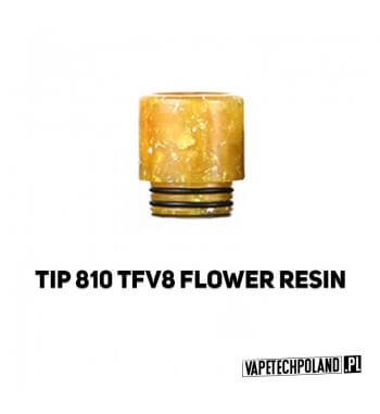 Drip Tip / Ustnik 810 - FLOWER RESIN Ustnik 810FLOWER RESIN - kolor losowy.Do ustnika pasująnp. Eleaf Ijust 3 / ECM Zesta