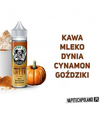 Premix COFFEE TIME - PUMPKIN SPICE LATTE 50ml Premix o smaku kawy z mlekiem, dynią, cynamonem i goździkami. 50ml płynu w butelc