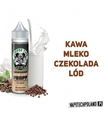 Premix COFFEE TIME - JAVA CHIP FRAPP 50ml Premix o smaku kawy z mlekiem, czekoladą i lodem. 50ml płynu w butelce o pojemności 6