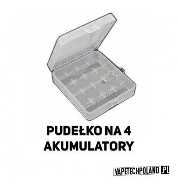 Pudełko na 4 akumulatory 18650 Plastikowe pudełko na 4 akumulatory 18650 2