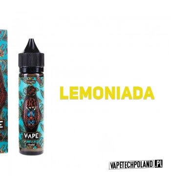 Premix V-APE - MANDILL 40ML Premix o smaku lemoniady. 40ml płynu w butelce o pojemności 60ml. Produkt Shake and Vape przeznaczo