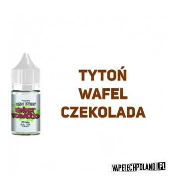 Premix Funky Street - Sweet Tobacco 20ML Premix o smaku tytoniu z waflem i czekoladą. 20ml płynu w butelce o pojemności 30ml. P