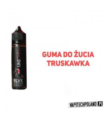 PREMIX BLVK UNICORN - UNIchew 50ml Premix o smakugumy do żucia z truskawką.50ml płynu w butelce o pojemności 60ml.Produkt
