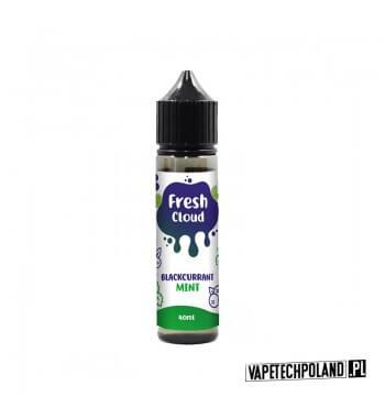 PREMIX FRESH CLOUD - BLACKCURRANT MINT 40ml Premix o smaku czarnej porzeczki z miętą. 40ml płynu w butelce o pojemności 60ml.
