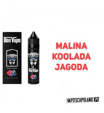Premix DON VAPO - Jagoda / Malina / Koolada 50ml Premix o smaku jagody, maliny i koolady. 50ml płynu w butelce o pojemności 60m