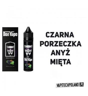Premix DON VAPO - Jeżyna / Anyż / Mięta 50ml Premix o smaku jeżyny, anyżu i mięty. 50ml płynu w butelce o pojemności 60ml.Pro