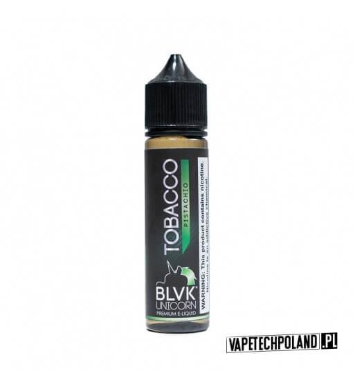 PREMIX BLVK UNICORN - TOBACCO Pistachio 50ml Premix o smaku tytoniu z pistacją.50ml płynu w butelce o pojemności 60ml.Produ