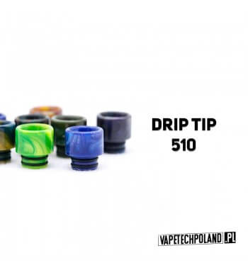Drip Tip / Ustnik 510 Ustnik 510 - kolor losowy (przykładowe kolory na zdjęciu). 2