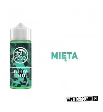 Premix DotVape - Blow Mint 80ML Premix o smaku cukierków skittles. 80ml płynu w butelce o pojemności 120ml.Produkt Shake and