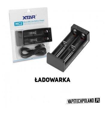 Ładowarka dwukanałowa - XTAR MC2 Profesjonalna, kompaktowa ładowarka procesorowaXTAR MC2 do akumulatorów w rozmiarach 18650 i